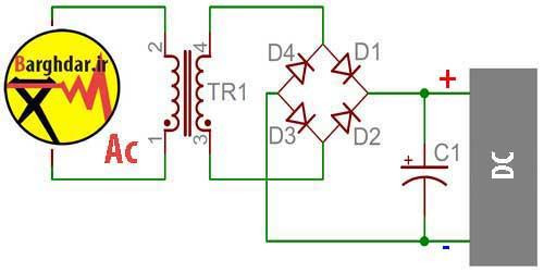 آموزش Dc کردن برق Ac