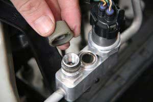 آموزش شارژ گاز کولر خودرو